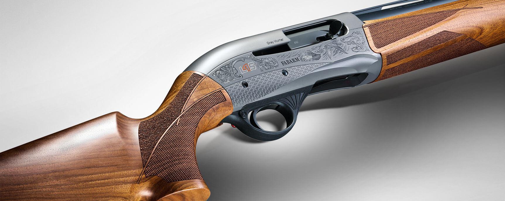Nueva escopeta semiautomática de caza Fabarm modelo L4S